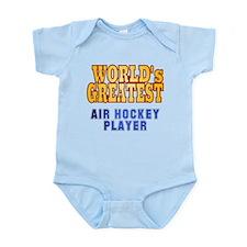 World's Greatest Air Hockey Player Infant Bodysuit
