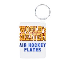 World's Greatest Air Hockey Player Keychains