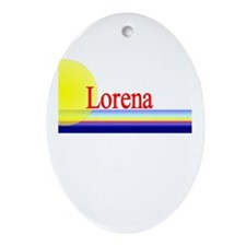Lorena Oval Ornament