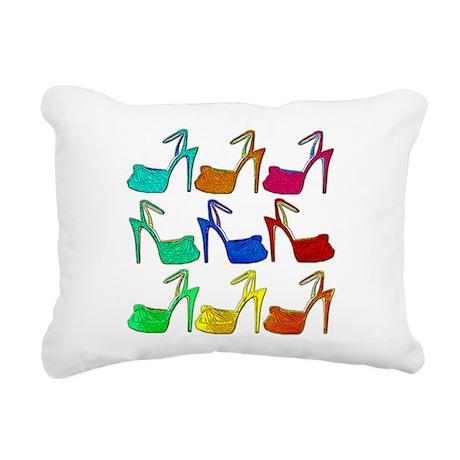 Heels Rectangular Canvas Pillow