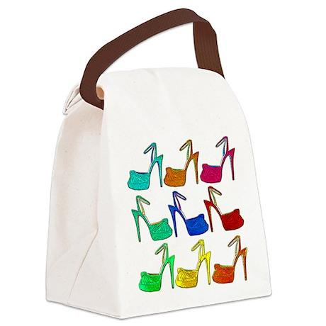 Heels Canvas Lunch Bag