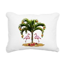 Tropical Holiday Rectangular Canvas Pillow