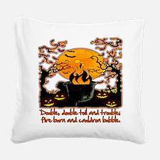 Cauldron Square Canvas Pillow