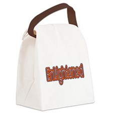 Enlightened Canvas Lunch Bag