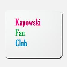 Kapowski Fan Club Mousepad
