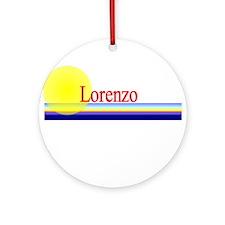 Lorenzo Ornament (Round)
