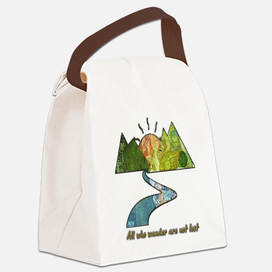 Wander Canvas Lunch Bag