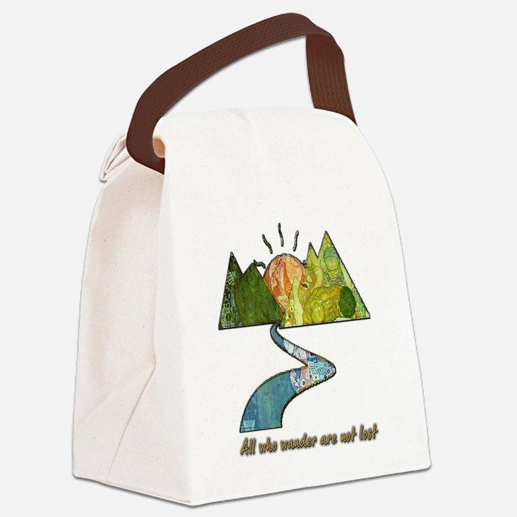 Wander Canvas Lunch Bag