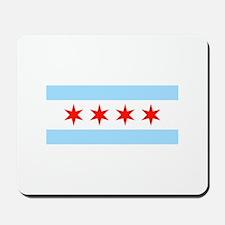 Chicago Flag Mousepad