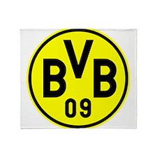 Borussia Dortmund Throw Blanket