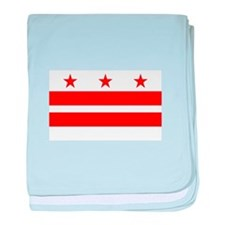 District of Columbia Flag baby blanket