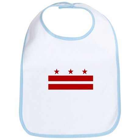 District of Columbia Flag Bib