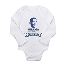 BARACK OBAMA IS MY HOMEBOY Body Suit