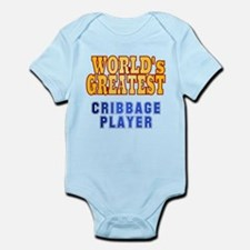 World's Greatest Cribbage Player Infant Bodysuit