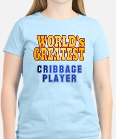 World's Greatest Cribbage Player T-Shirt