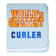 World's Greatest Curler baby blanket