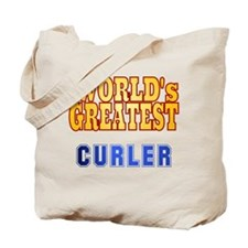 World's Greatest Curler Tote Bag