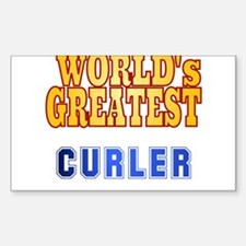 World's Greatest Curler Decal