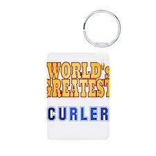 World's Greatest Curler Keychains