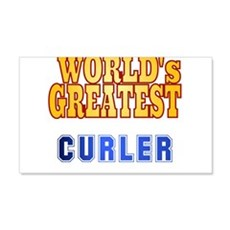 World's Greatest Curler Wall Decal