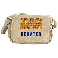 World's Greatest Debater Messenger Bag