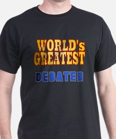 World's Greatest Debater T-Shirt