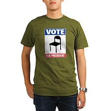Chair For President T-Shirt