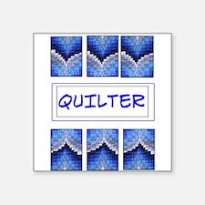 """Bargello Square Sticker 3"""" x 3"""""""