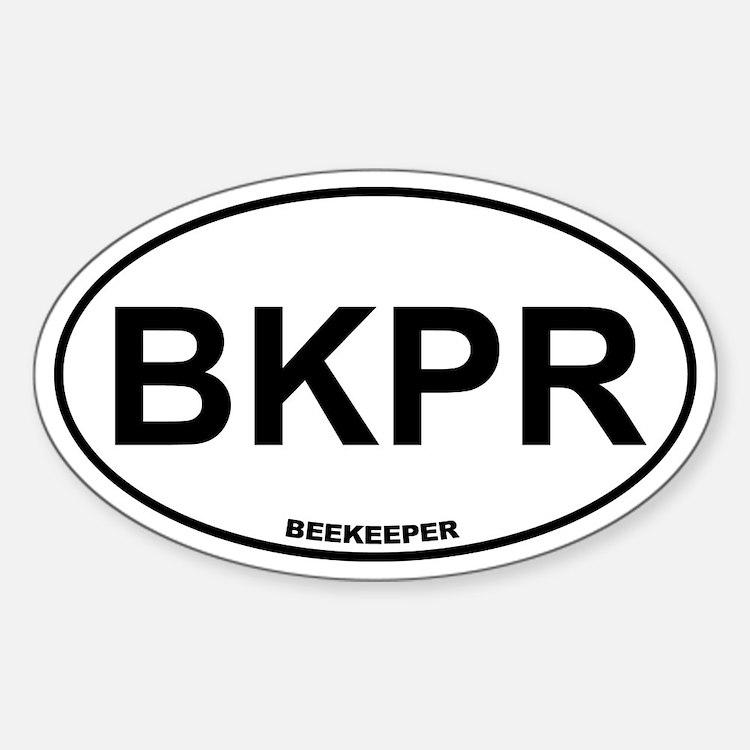 BKPR Beekeeper Sticker (Oval)