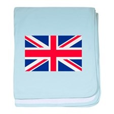 London Flag baby blanket