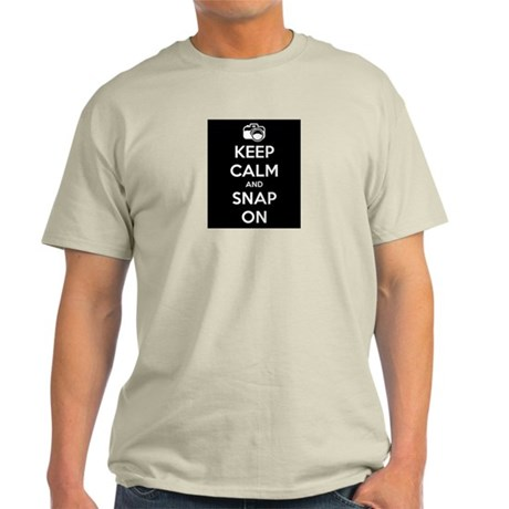 Keep calm and snap on Light T-Shirt