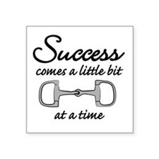 "Success Square Sticker 3"" x 3"""