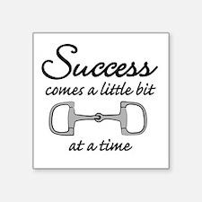 """Success Square Sticker 3"""" x 3"""""""