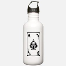 ST-8 Ace of Spades Water Bottle