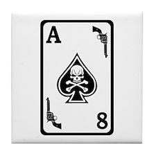 ST-8 Ace of Spades Tile Coaster
