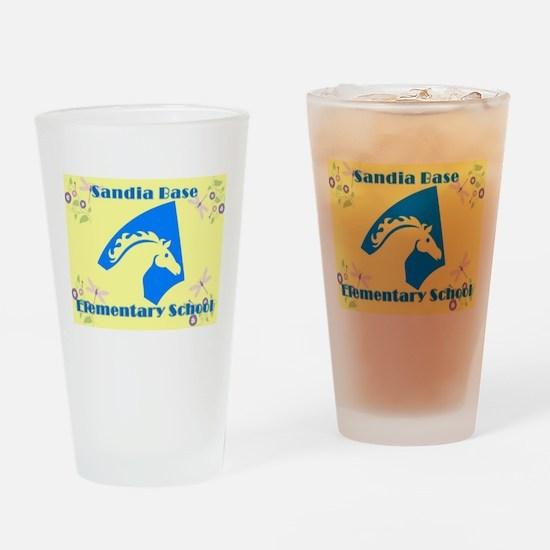 Sandia Base Elementary School 2 Drinking Glass