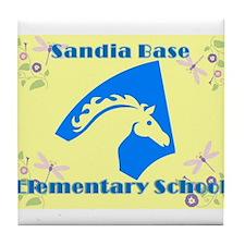 Sandia Base Elementary School 2 Tile Coaster