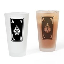 ST-8 Ace of Spades Drinking Glass