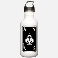ST-8 Ace of Spades Sports Water Bottle