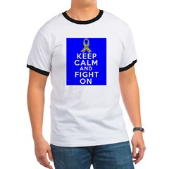 Autism Keep Calm and Fight On T