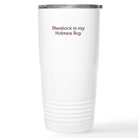 Sherlock Stainless Steel Travel Mug