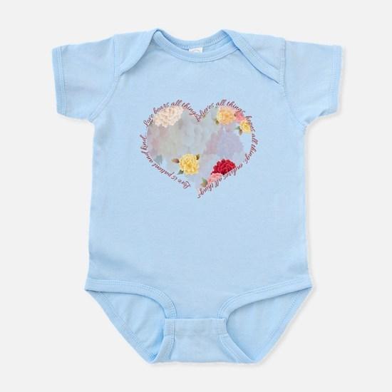 Love is Patient Infant Bodysuit