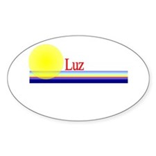 Luz Oval Decal