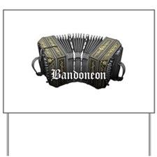 Bandoneon Yard Sign