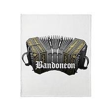 Bandoneon Throw Blanket