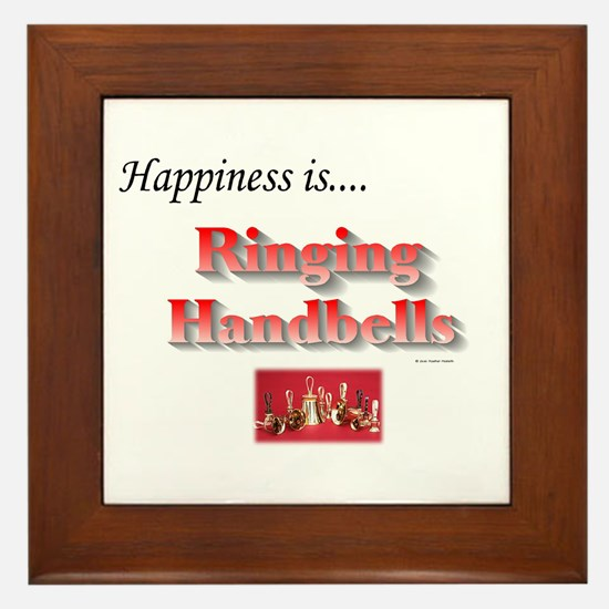 Happiness Is... Framed Tile