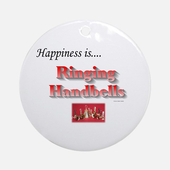 Happiness Is... Ornament (Round)