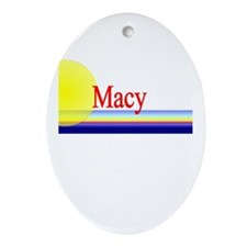 Macy Oval Ornament