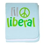 Lil Liberal baby blanket