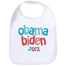 Obama Biden 2012 Bib